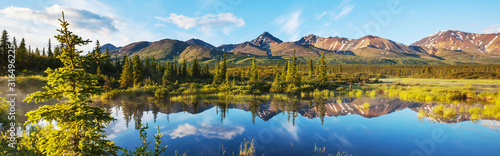 Fotografie, Obraz Lake on Alaska