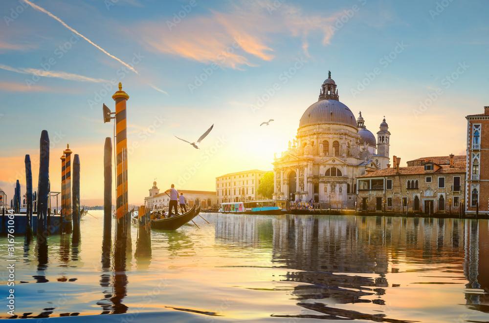 Kanał Gand w Wenecji <span>plik: #316761064 | autor: Givaga</span>
