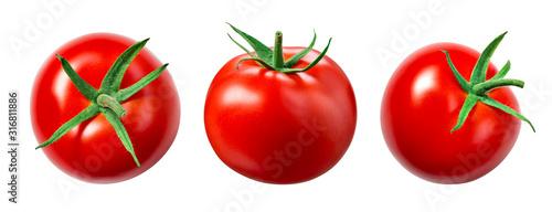 Fotografie, Obraz Tomato isolate