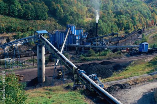 Obraz na plátně Coal mine, West Virginia