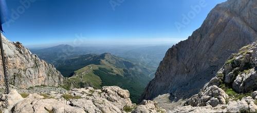 Obraz na plátne Foto fatta durante la scalata del Gran Sasso