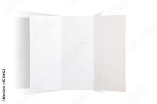 Obraz na płótnie trifold brochure