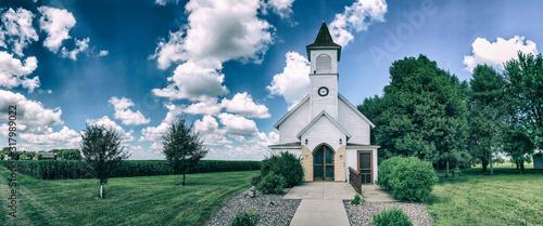 Fotografia, Obraz Old church