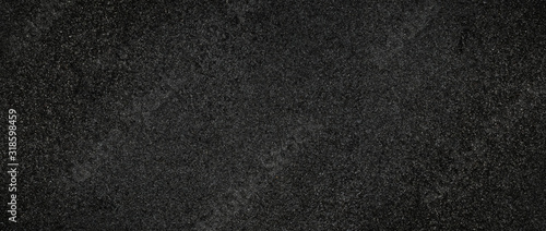 Canvas asphalt surface grunge panoramic top view