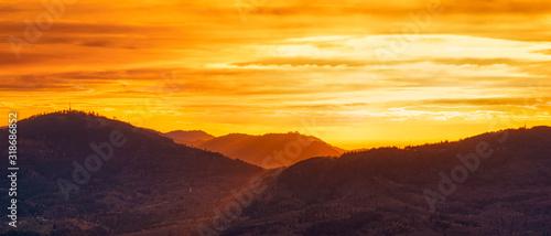 Photo Golden Sunset