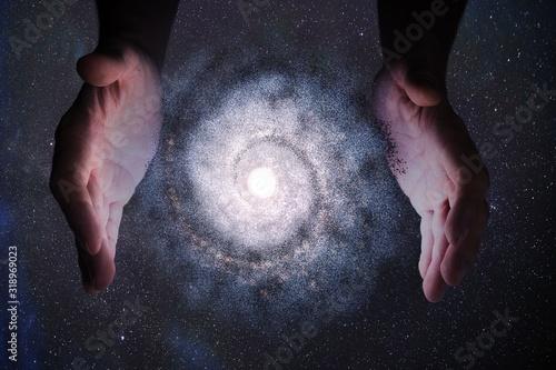Obraz na płótnie Creationism concept