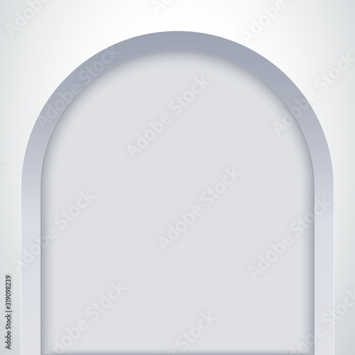 Tableau sur Toile White arch niche