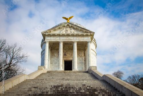 Fotografia civil war memorial in Vicksburg Mississippi