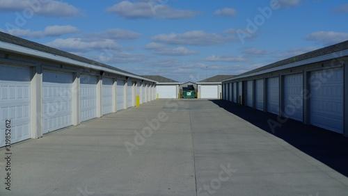 Fotografie, Obraz VIEW OF garages
