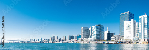 Photo Tokyo water front city