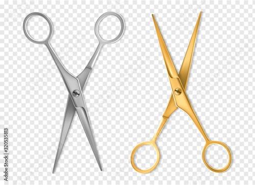 Wallpaper Mural Realistic scissors