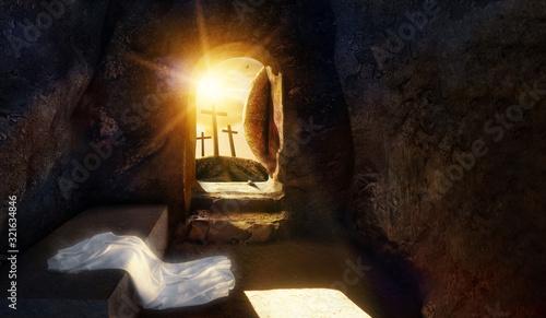 Stampa su Tela He is Risen
