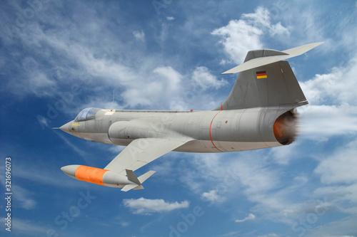 Canvas Print Starfighter F-104