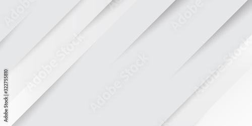 Fototapeta premium Szary biały abstrakcyjny papier tło połysk i element warstwy wektora do projektowania prezentacji. Garnitur dla biznesu, korporacji, instytucji, imprez, świąt, seminariów i rozmów.