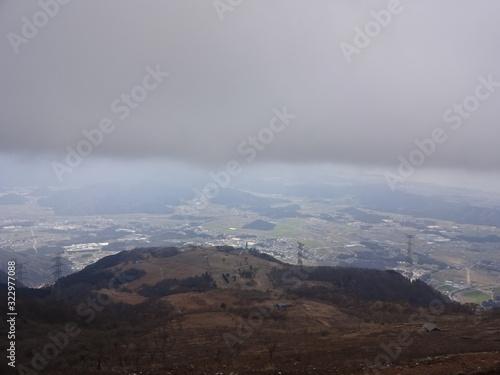 Fotografie, Obraz The view of Ibuki Mountain in Japan