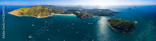 Fotografia Aerial panorama of Phuket island