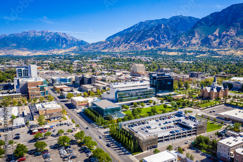 Photo Downtown Provo Utah North East View