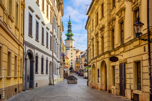 Wallpaper Mural Old town of Bratislava, Slovakia