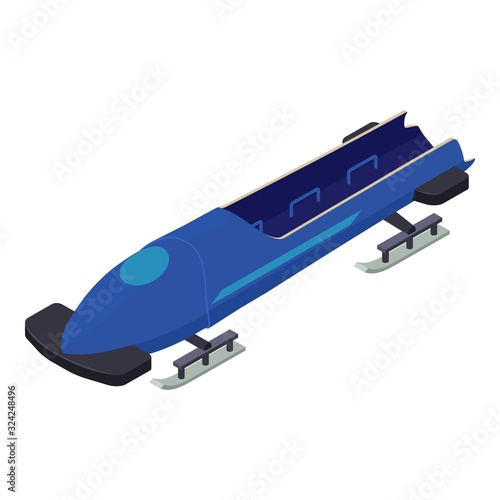 Team bobsleigh icon Fototapete