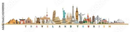 Valokuva world culture tourism travel historical monuments and holiday