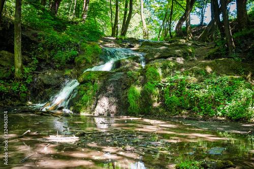 wodospad szum, dolina będkowska