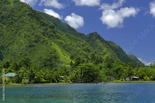 Obraz na plátně sur le lagon tahitien