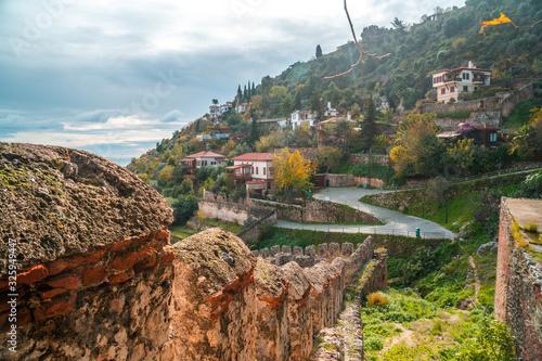 Photo Landscape of Alanya Castle in Antalya