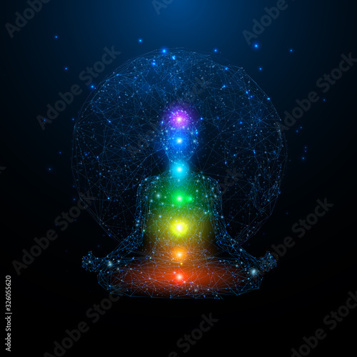 Fotografia Yoga space concept