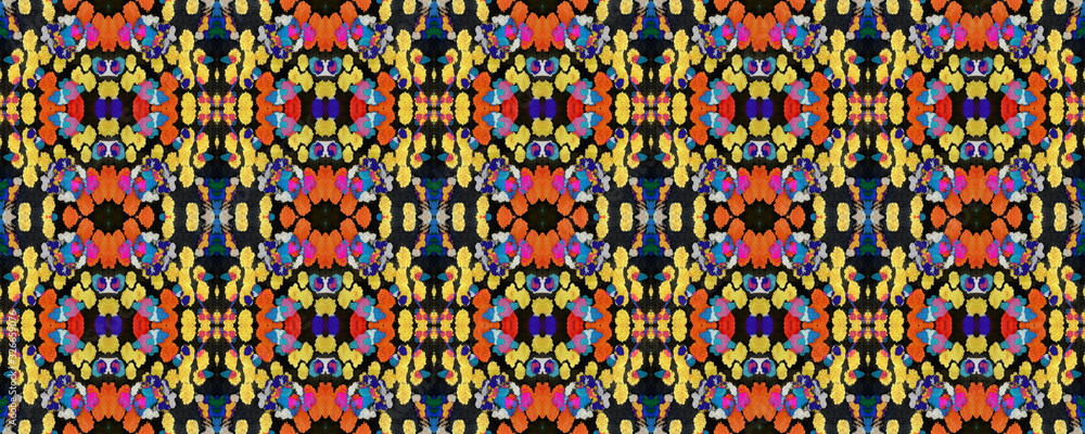 Geometric Seamless Pattern. <span>plik: #326659076 | autor: Vialeta</span>