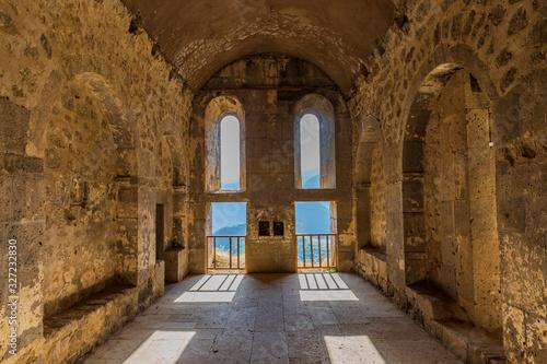 Obraz na plátně Tatev monastery Syunik Armenia landmark