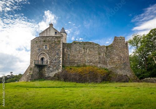 Obraz na plátně Dunstaffnage Castle in Oban, Scotland, UK