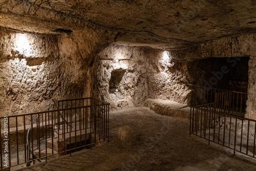 Fototapeta The prison of Jesus Christ in Jerusalem in Jerusalem