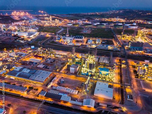 Chemical plant at Tarragona