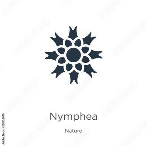 Fotografie, Obraz Nymphea icon vector