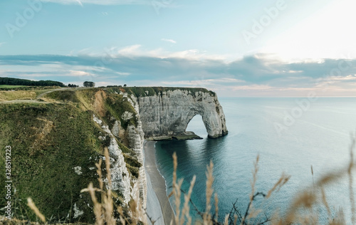 Wallpaper Mural cliffs of Etretat Normandy France