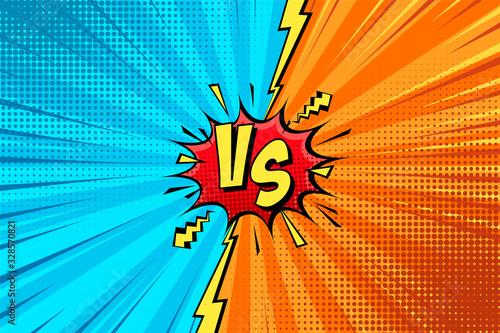Cartoon comic background Fototapete