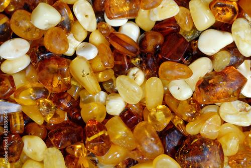 Foto Background, natural amber