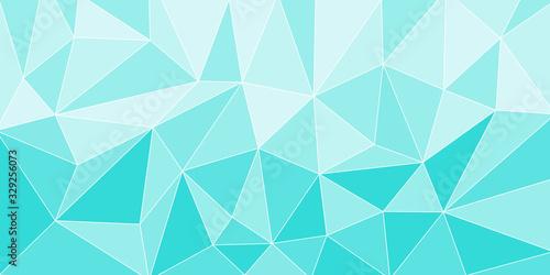 幾何学 水 氷 背景