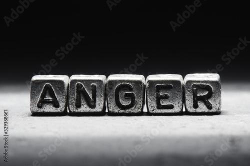 Tela The concept of anger, emotion management technique