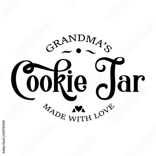 Slika na platnu Cookie Jar