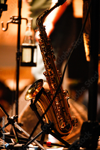 Fototapeta saxophone