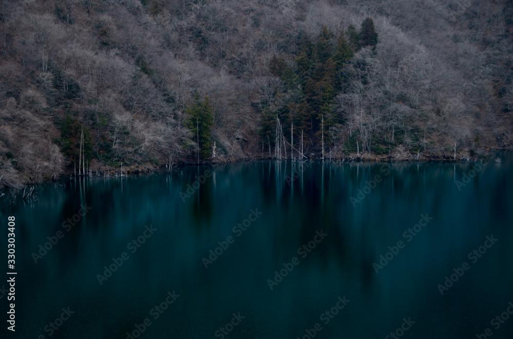 湖と木 <span>plik: #330303408 | autor: PENTABI</span>