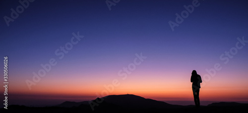 Slika na platnu Ambaritsa peak, Bulgaria - October 20, 2019