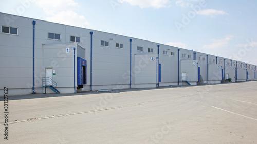 Fotografie, Tablou Loading Docks Warehouse