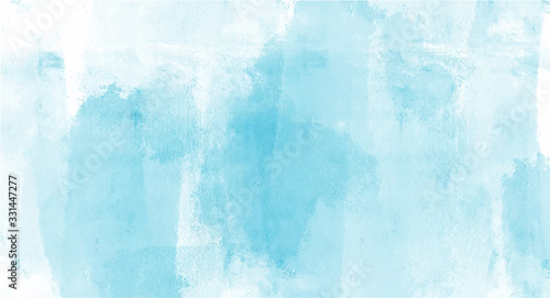Vintage Blue watercolor background for your design, watercolor background concept, vector.