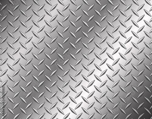 The diamond steel metal texture background