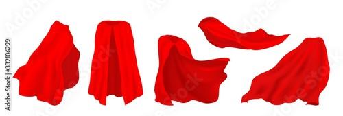 Wallpaper Mural Red superhero cape