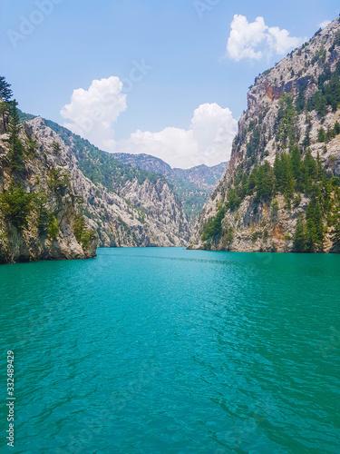Fotografie, Obraz Green canyon in Turkey Alanya