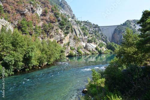 Canvastavla Green Canyon Türkei