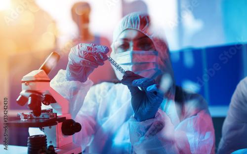 Fotografiet Medical science laboratory